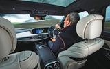 Mercedes-Benz S-Class - driving