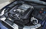 4.0-litre V8 Mercedes-AMG C 63 S engine