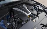 2016 Infiniti Q50 Engine Bay