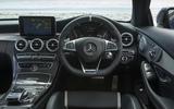 Mercedes-AMG C 63 S dashboard
