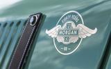 Morgan 80th Anniversary 4/4 badging