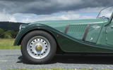 Morgan 80th Anniversary 4/4 steel wheels