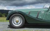 Morgan 80th Anniversary 4/4 steel wheels