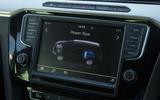 Volkswagen Passat GTE Estate infotainment