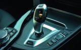 BMW 330e Sport gears