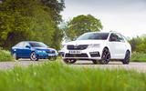 Skoda Octavia vRS diesel longterm review estate and hatchback