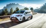 Toyota Yaris GRMN cornering