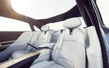 2020 Lucid Air - rear seats