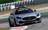 Mercedes-AMG F1 safety car - on circuit