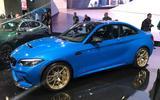 BMW M2 CS front three quarter