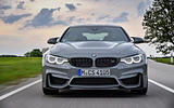 BMW M4 CS front end
