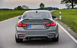 BMW M4 CS rear end