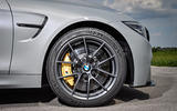 BMW M4 CS black alloys