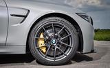 BMW M4 CS black alloys
