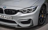 BMW M4 CS LED headlights