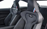 BMW M4 CS sports seats