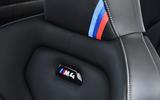 BMW M4 CS interior badging