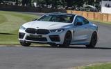 BMW M8 dynamic debut at Goodwood