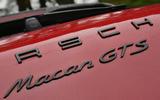 Porsche Macan GTS badging
