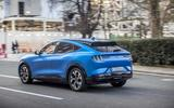 Ford Mustang Mach E rear 3/4