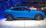 Mustang Mach-E side profile