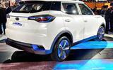 New Delhi Auto Expo 2020 - Mahindra eXUV300 rear