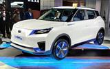 New Delhi Auto Expo 2020 - Mahindra eXUV300 front
