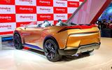 New Delhi Auto Expo 2020 - Mahindra Funster rear
