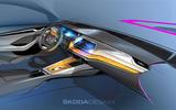 2020 Skoda Octavia - interior sketch