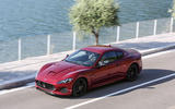 Maserati GranTurismo MC top profile