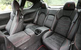 Maserati GranTurismo MC rear seats