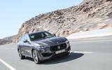 Maserati Levante S GranSport cornering