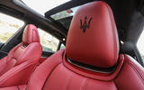 Maserati Levante S GranSport head rests
