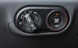 Maserati Levante S GranSport ignition button