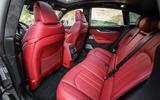 Maserati Levante S GranSport rear seats