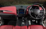 Maserati Levante S GranSport dashboard