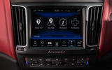 Maserati Levante S GranSport infotainment system