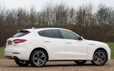 Maserati Levante S GranSport rear quarter