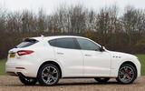 Maserati Levante S GranSport rear quarter