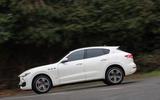 Maserati Levante S GranSport side profile
