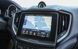 Maserati Ghibli Diesel infotainment system