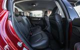 Maserati Ghibli Diesel rear seats