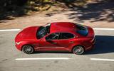 Maserati Ghibli Diesel top profile