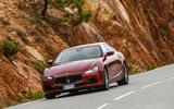Maserati Ghibli Diesel cornering