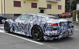 Maserati MC20 spy photos - parked