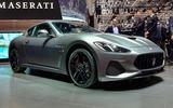 Maserati show stand Geneva motor show