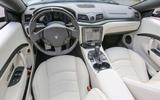 Maserati GranCabrio dashboard