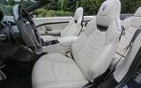 Maserati GranCabrio front seats