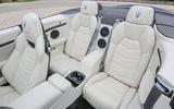 Maserati GranCabrio rear seats