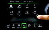 Maserati GranCabrio infotainment system